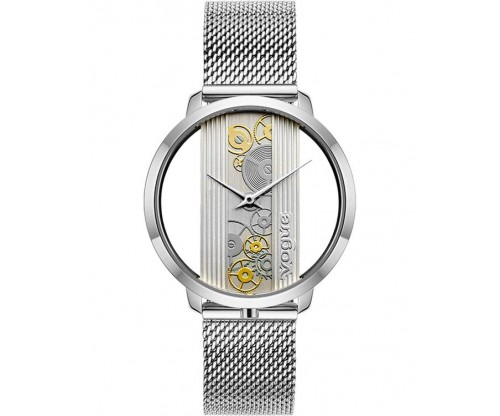 VOGUE Telescopic Silver Stainless Steel Bracelet
