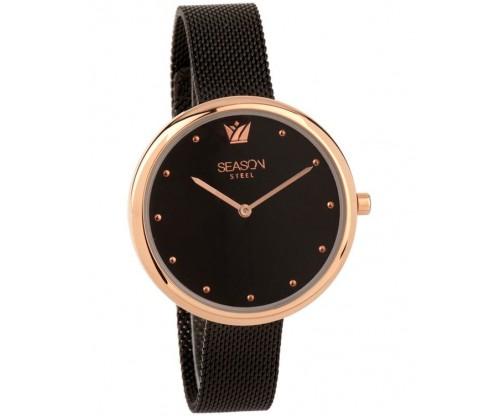 SEASON Piccadilly Black Stainless Steel Bracelet