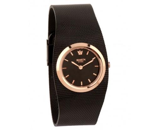 SEASON Skyline Black Stainless Steel Bracelet