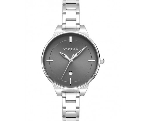 VOGUE Concord Silver Stainless Steel Bracelet