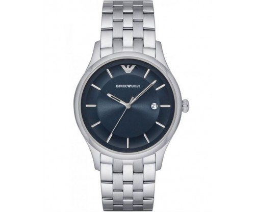 Emporio ARMANI Gents Silver Stainless Steel Bracelet