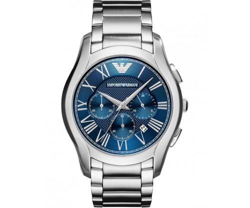 Emporio ARMANI Valente.. Chronograph Stainless Steel Bracelet