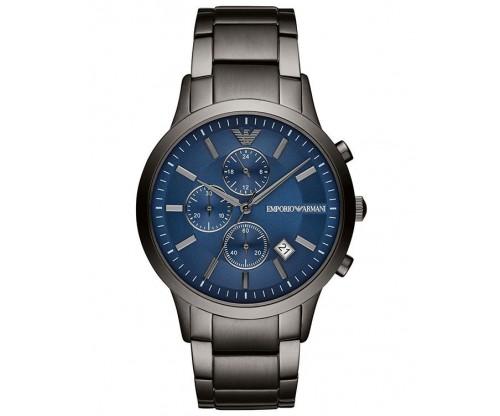 Emporio ARMANI Renato Chronograph Grey Stainless Steel Bracelet