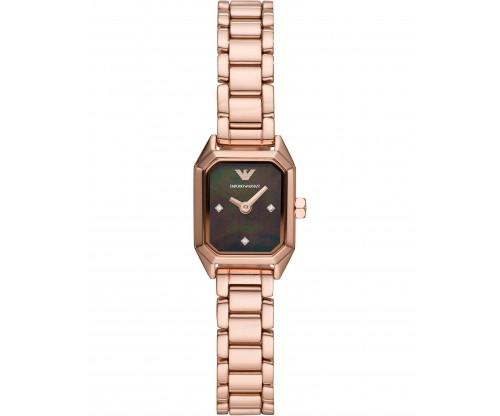 Emporio ARMANI Gioia.. Rose Gold Stainless Steel Bracelet