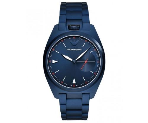 Emporio ARMANI Nicola.. Blue Stainless Steel Bracelet