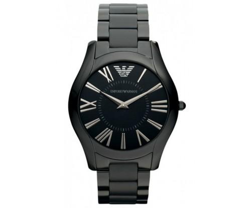 Emporio ARMANI Black Stainless Steel Bracelet