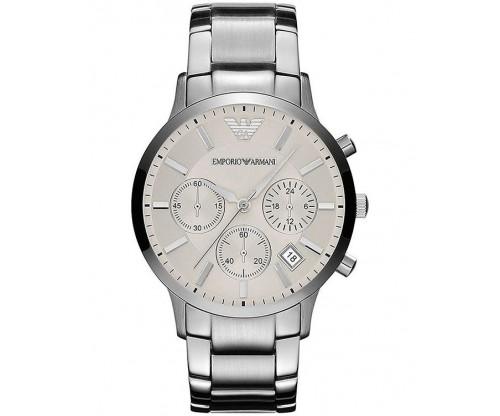 Emporio ARMANI Chronograph Stainless Steel Bracelet