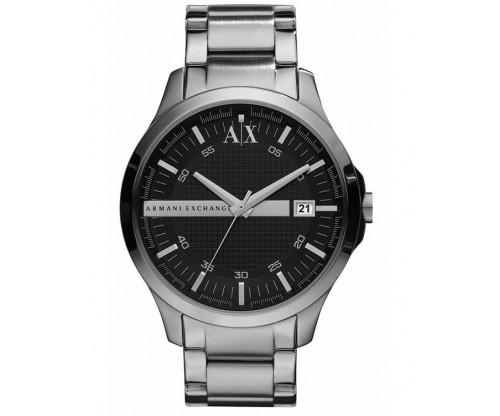 ARMANI EXCHANGE Hampton Silver Stainless Steel Bracelet