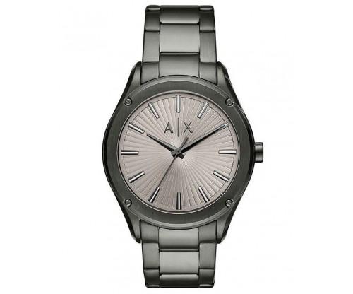 ARMANI EXCHANGE Fitz Grey Stainless Steel Bracelet