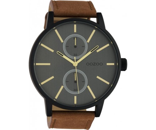 OOZOO Timepieces Summer leather brown