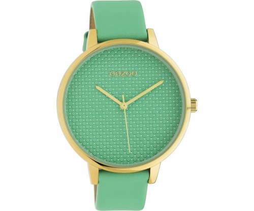 OOZOO Timepieces Summer leather biscay green