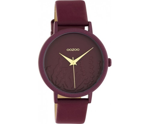 OOZOO Timepieces Summer leather biking red