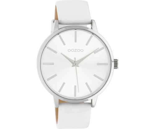 OOZOO Timepieces Summer leather white