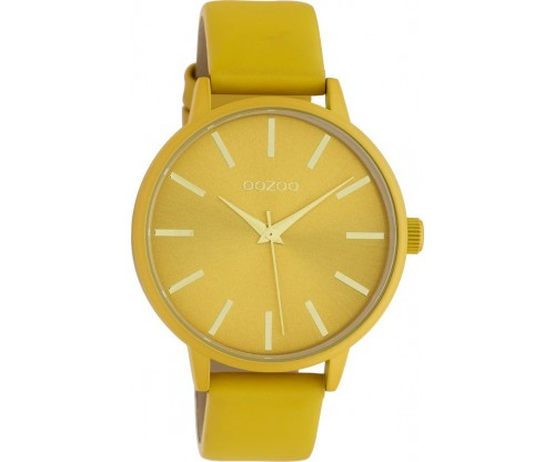 OOZOO Timepieces Summer leather mustard