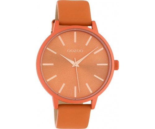 OOZOO Timepieces Summer leather dusty orange