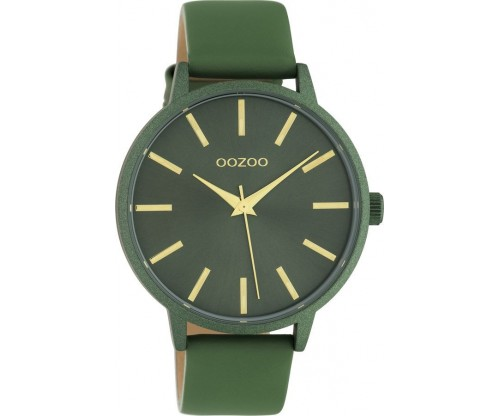 OOZOO Timepieces Summer leather olive