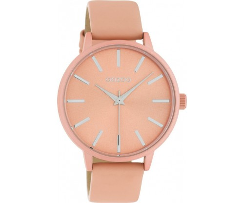 OOZOO Timepieces Summer leather soft pink