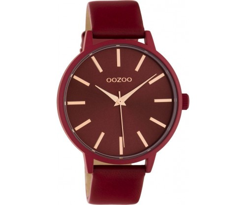 OOZOO Timepieces Summer leather chili pepper