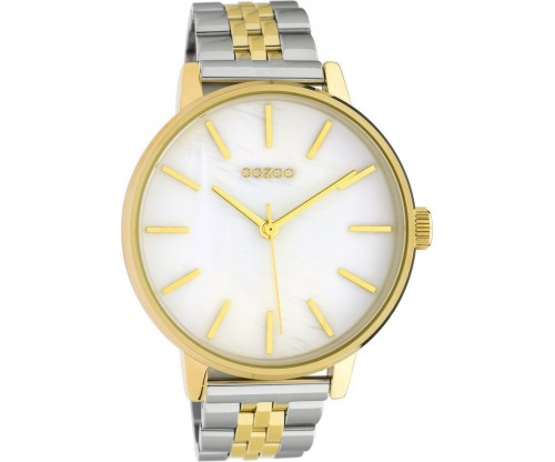 OOZOO Timepieces Summer metal silver/gold