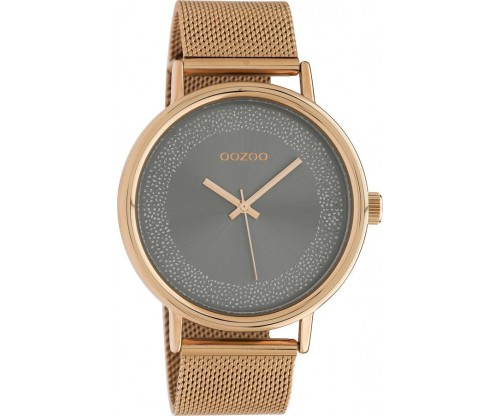 OOZOO Timepieces Summer metal rose gold