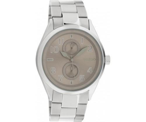 OOZOO Timepieces Summer metal silver