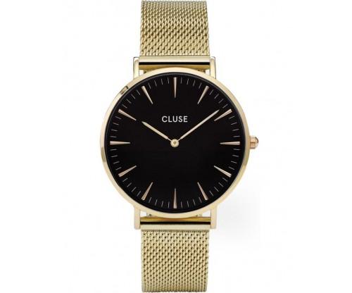 CLUSE La Boheme Gold Mesh Stainless Steel Bracelet
