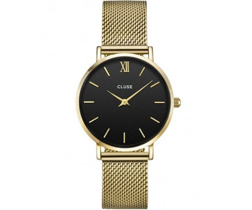 CLUSE Minuit Gold Stainless Steel Bracelet