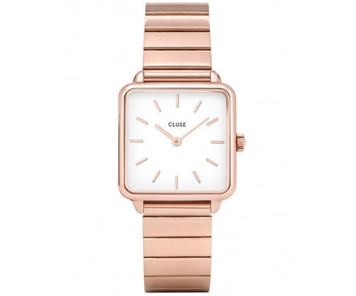 CLUSE La Tetragone Rose Gold Stainless Steel Bracelet