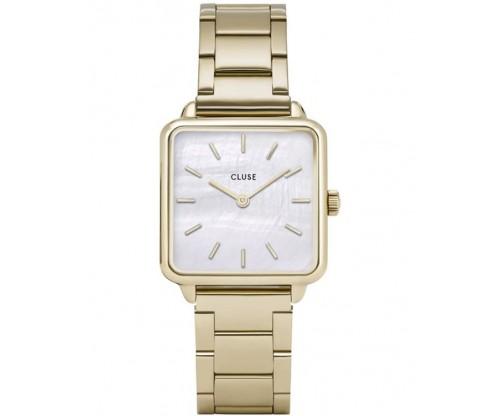 CLUSE La Tetragone Gold Stainless Steel Bracelet