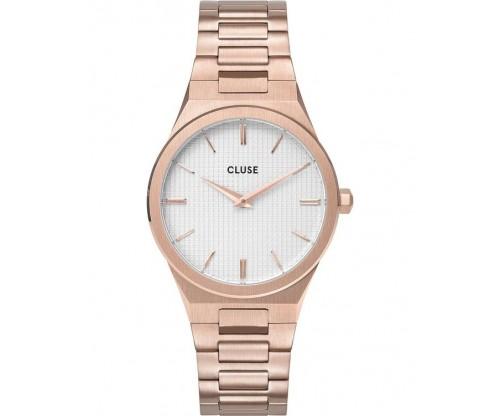 CLUSE Vigoureux 33 Rose Gold Stainless Steel Bracelet