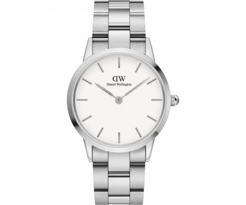 Daniel Wellington Iconic Link Silver Stainless Steel Bracelet 36mm
