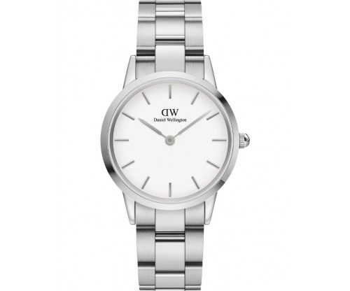 Daniel Wellington Iconic Link Silver Stainless Steel Bracelet 32mm