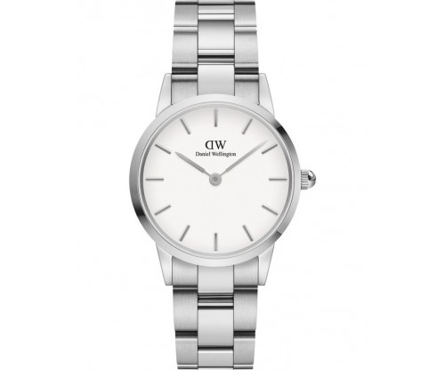 Daniel Wellington Iconic Link Silver Stainless Steel Bracelet 28mm
