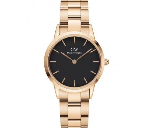 Daniel Wellington Iconic Link Rose Gold Stainless Steel Bracelet 32mm