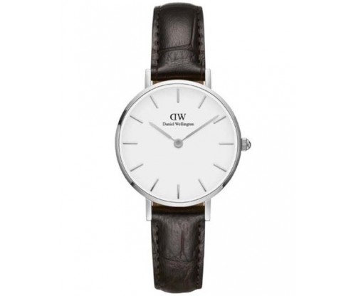 Daniel Wellington Classic Petite York Brown Leather Strap 28mm
