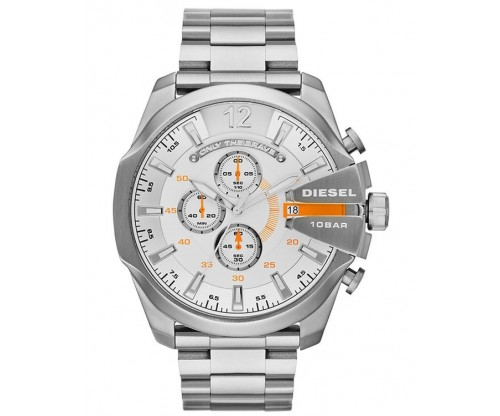 DIESEL Mega Chief, Chronograph, Stainless Steel Bracelet