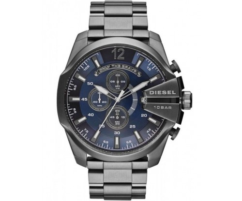 DIESEL Mega Chief, Chronograph, Gunmetal Ion-plated Bracelet