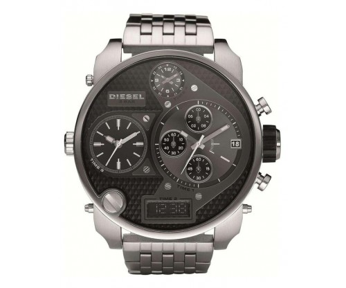 DIESEL Mr. Daddy 2.0 Chronograph Stainless Steel Bracelet