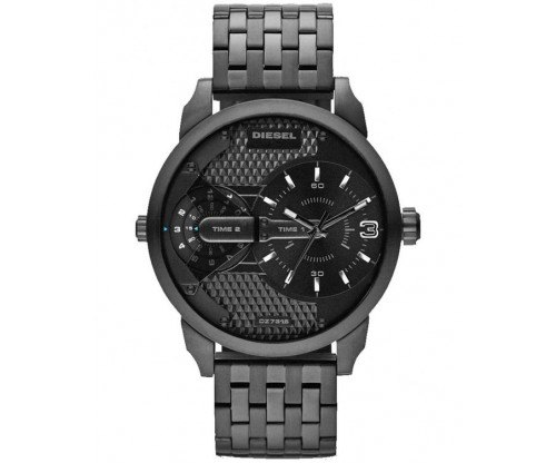 DIESEL Mini Daddy Black Stainless Steel Bracelet