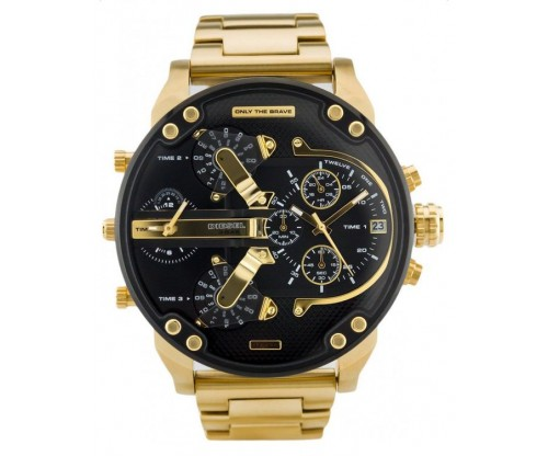 DIESEL Mr. Daddy 2.0 Chronograph Gold Stainless Steel Bracelet