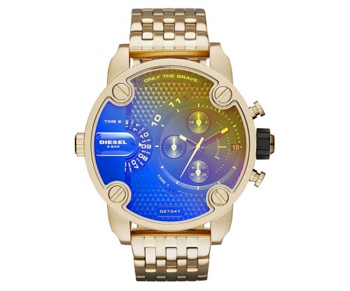 DIESEL Little Daddy Chronograph Gold Stainless Steel Bracelet