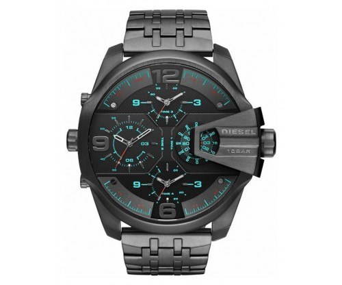 DIESEL Uber Chief, Chronograph, Black Stainless Steel Bracelet