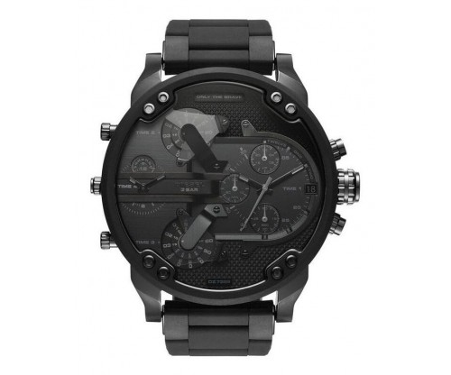 DIESEL Mr. Daddy 2.0 Chronograph Black Stainless Steel Bracelet