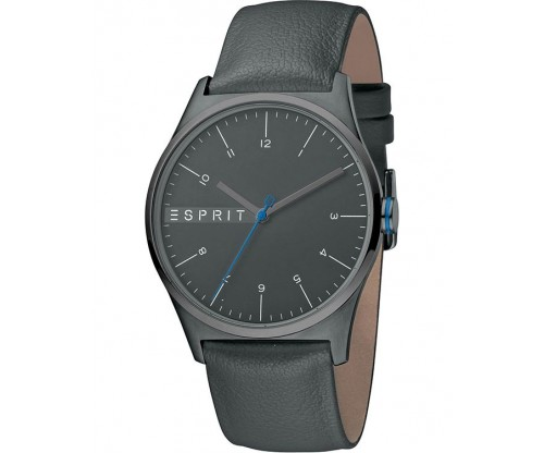 ESPRIT Essential Grey Leather Strap