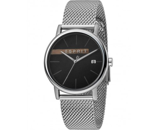 ESPRIT Timber Silver Stainless Steel Bracelet