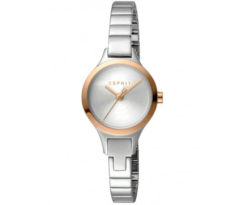 ESPRIT Petite Rose Gold Silver Stainless Steel Bracelet