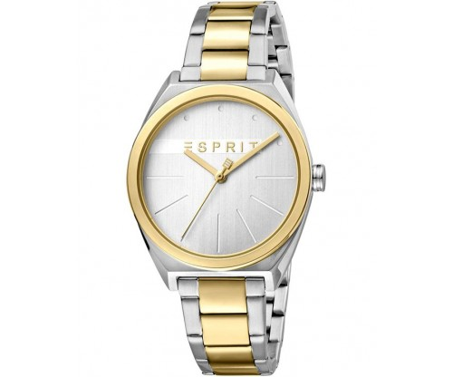 ESPRIT Slice Two Tone Stainless Steel Bracelet