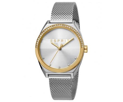 ESPRIT Slice Glam Crystals Silver Stainless Steel Bracelet
