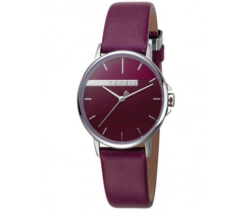 ESPRIT Red Leather Strap