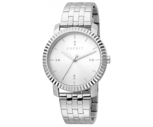 ESPRIT Menlo Silver Stainless Steel Bracelet